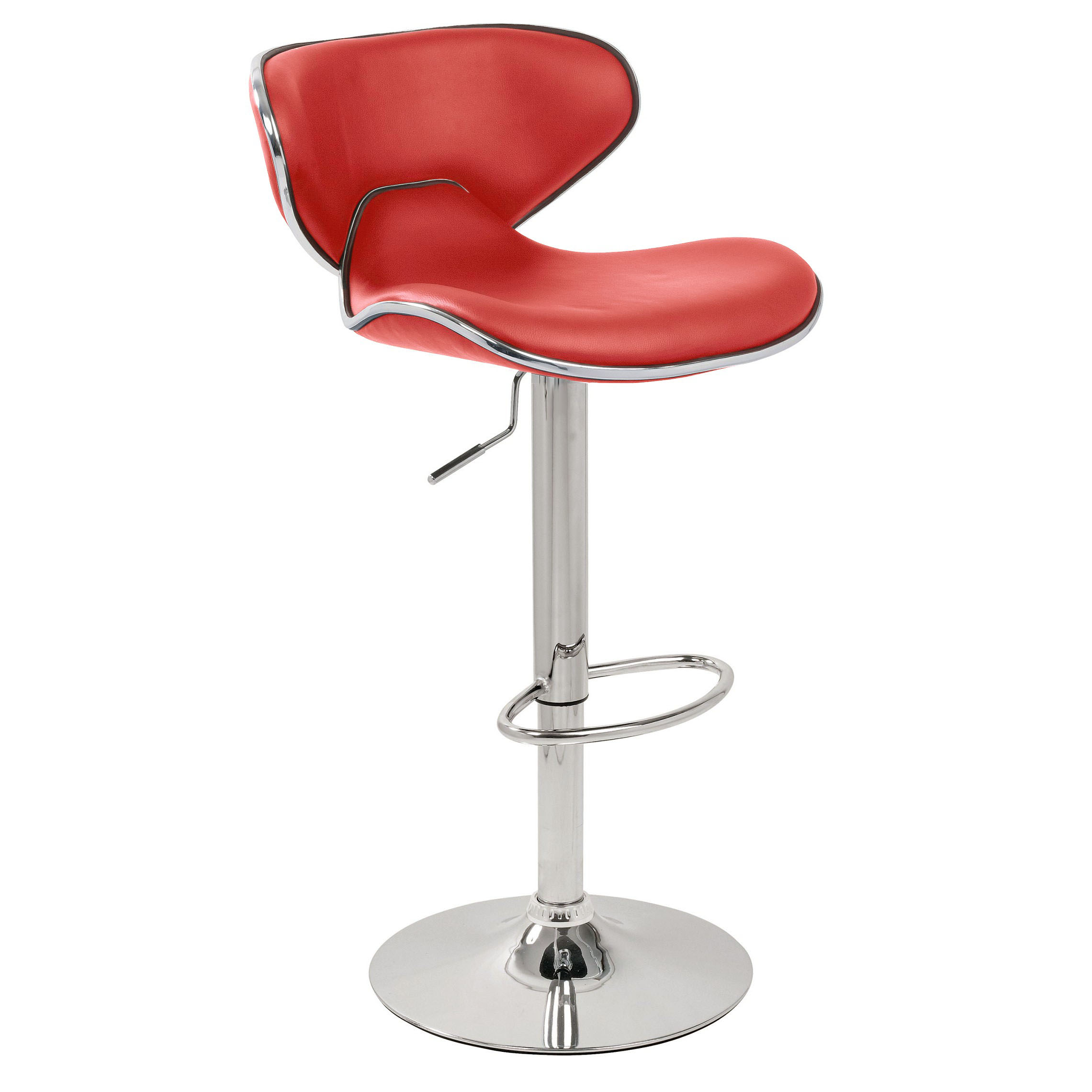 Carcaso Bar Stool - Red Product Image