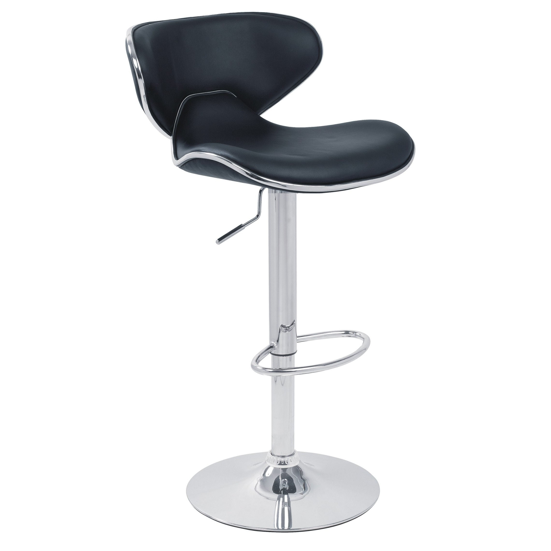 Carcaso Bar Stool - Black