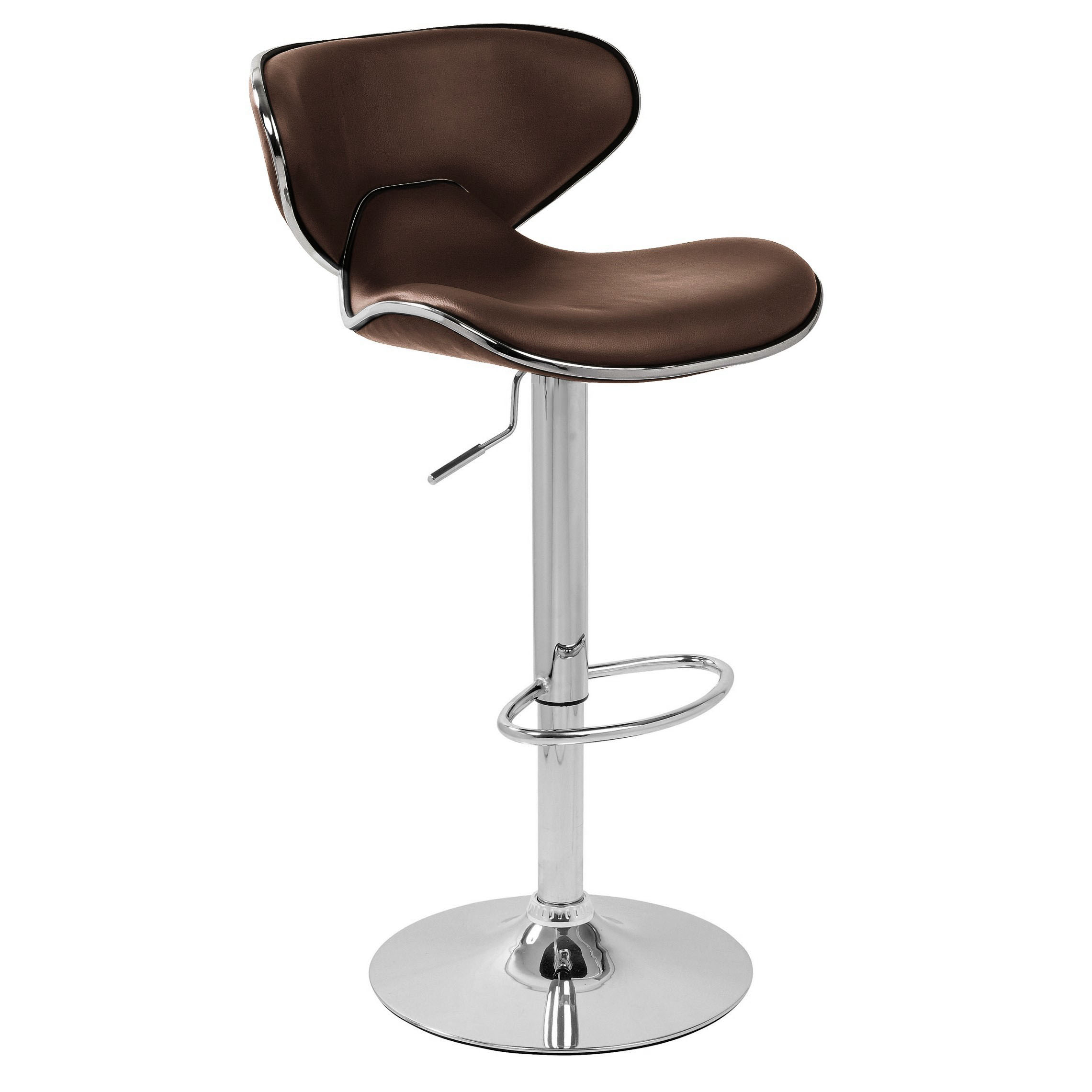 Carcaso bar stool brown for Best kitchen stools
