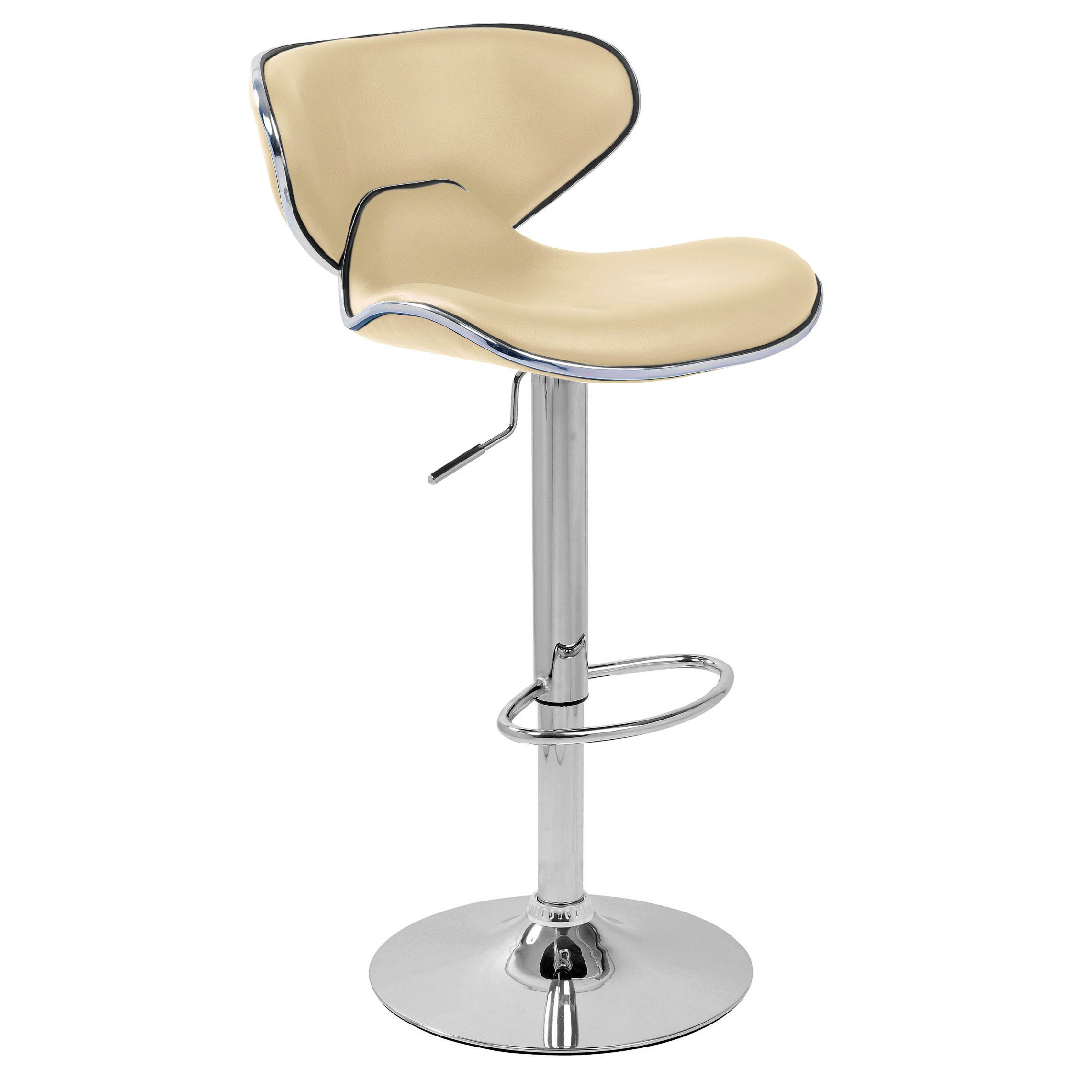 Carcaso Bar Stool - Cream