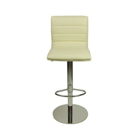 Deluxe Aldo Bar Stool - Cream
