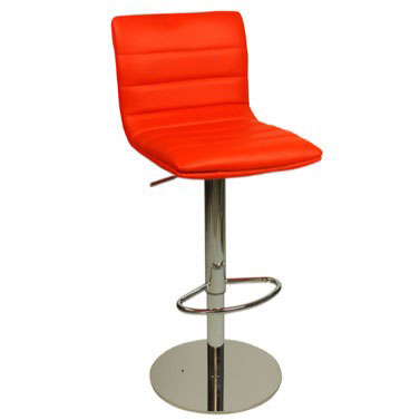 Deluxe Aldo Bar Stool - Red Product Image
