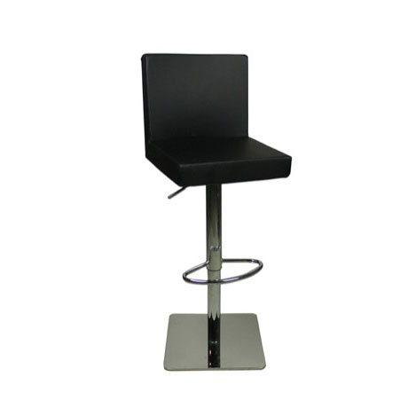 Swell Deluxe Alessa Bar Stool Black Size X 345Mm X 380Mm Short Links Chair Design For Home Short Linksinfo