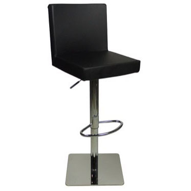 Deluxe Alessa Bar Stool - Black