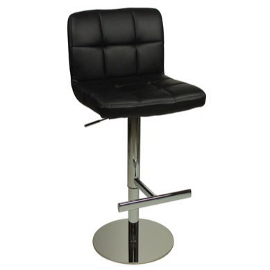 Deluxe Allegro Bar Stool - Black