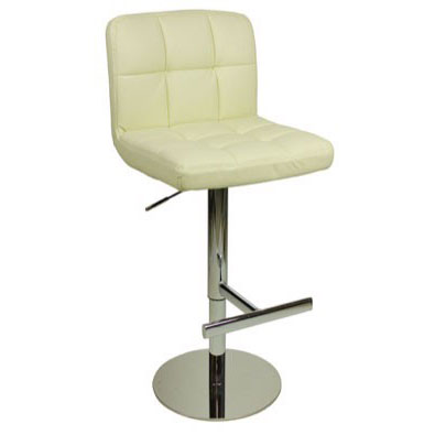 Deluxe Allegro Bar Stool - Cream