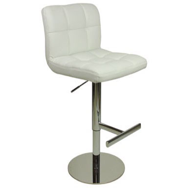 Deluxe Allegro Bar Stool - White Product Image