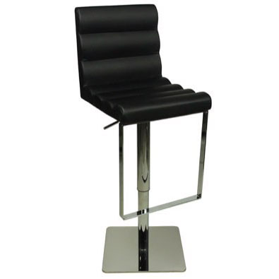 Deluxe Benito Bar Stool - Black Product Image