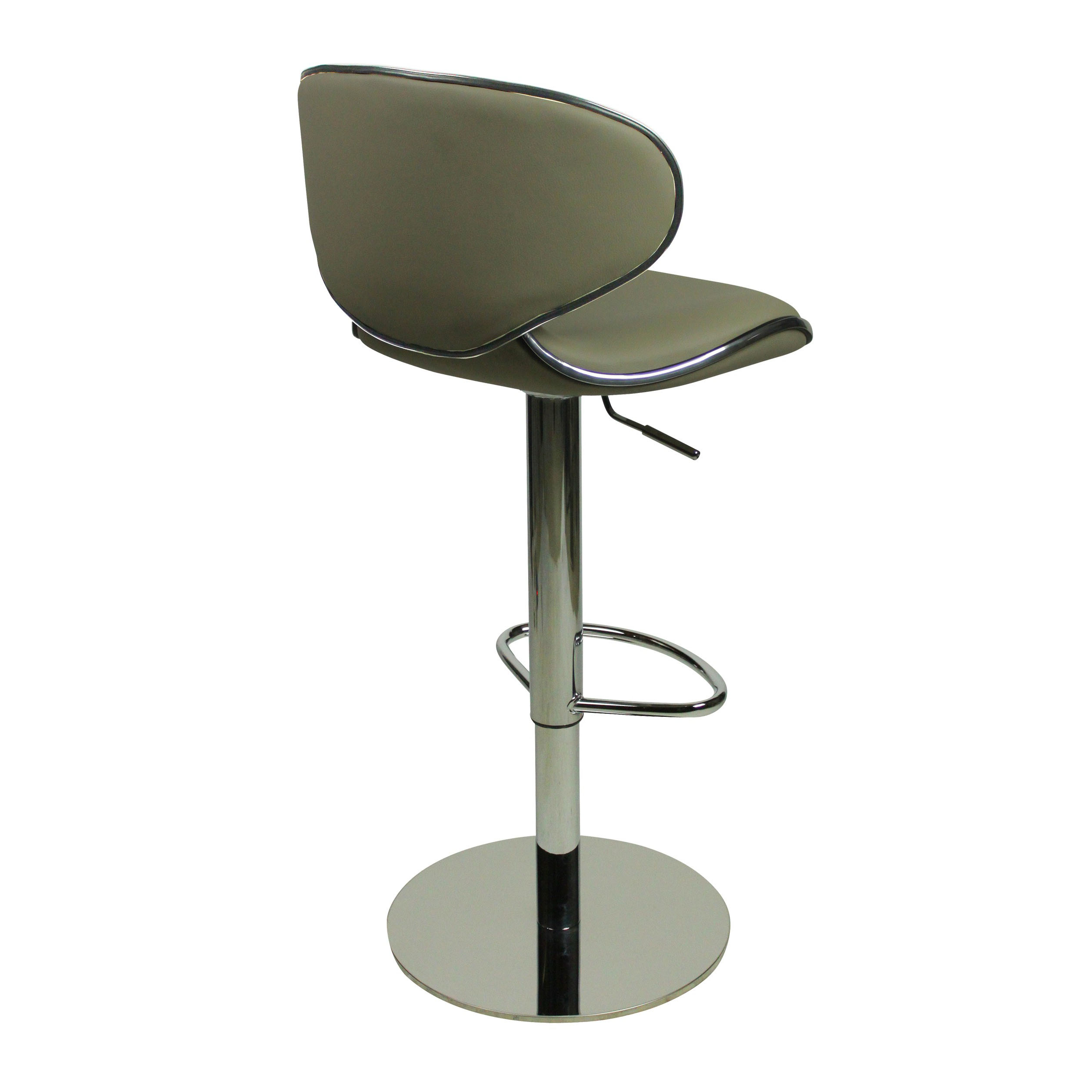 Deluxe Carcaso Bar Stool - Grey