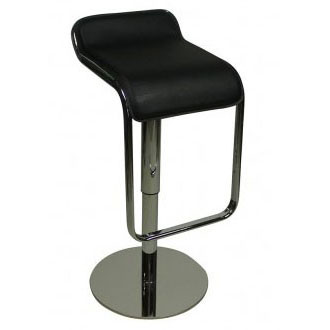 Deluxe Milano Bar Stool - Black Product Image