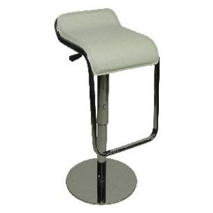 Deluxe Milano Bar Stool - White Product Image