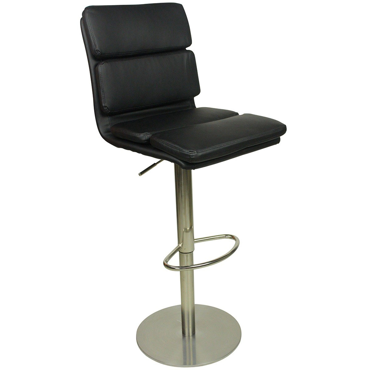 Deluxe Moderno Bar Stool - Black Product Image