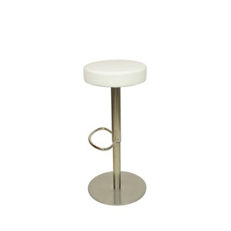 Deluxe Semplice Bar Stool - White