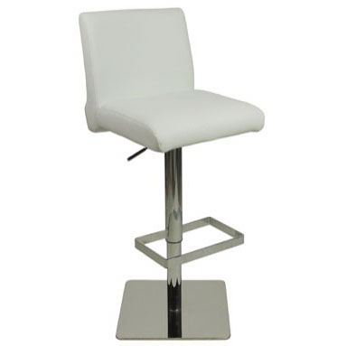 Deluxe Snella Bar Stool - White Product Image