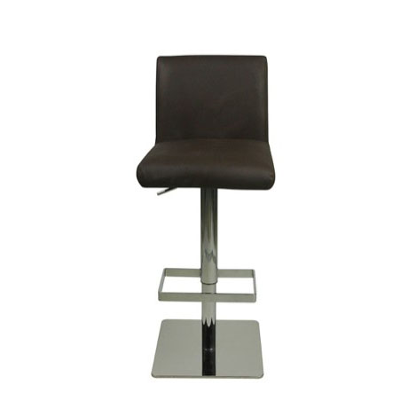Deluxe Snella Leather Bar Stool - Brown