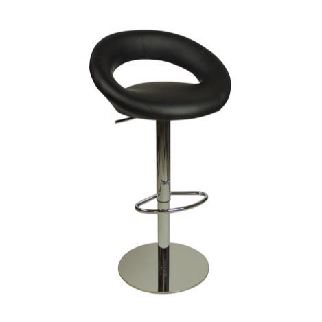 Deluxe Sorrento Kitchen Bar Stool - Black Product Image