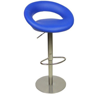 Deluxe Sorrento Kitchen Bar Stool - Blue