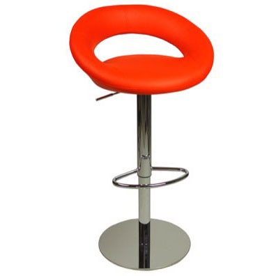 Deluxe Sorrento Kitchen Bar Stool - Red