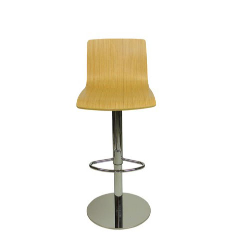 Deluxe Venezia Bar Stool - Oak