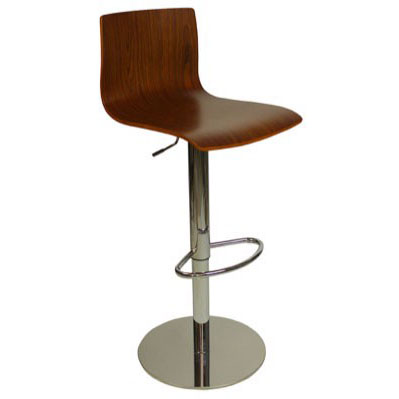 Deluxe Venezia Bar Stool - Walnut Product Image