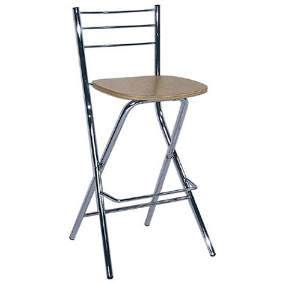 Falco Folding Bar Stool - Beech