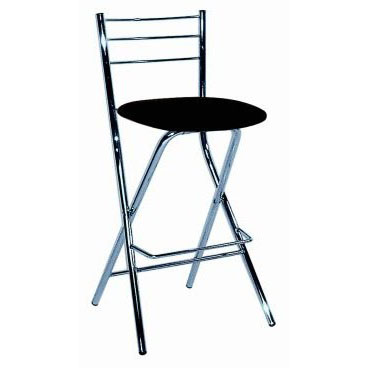 Falco Folding Bar Stool - Black Product Image