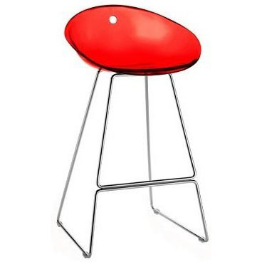 Gliss Bar Stool - Red
