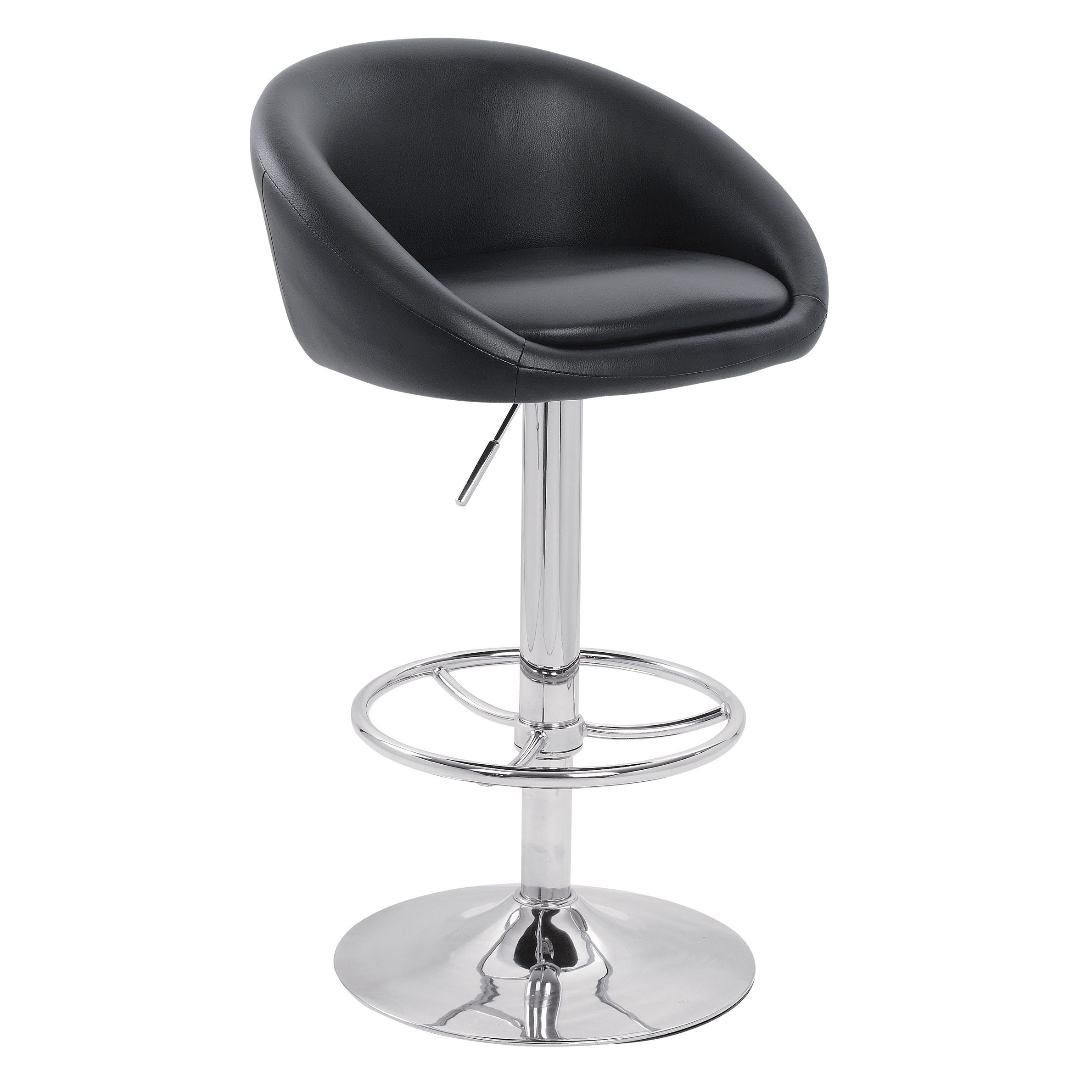 Luca Bar Stool - Black Product Image