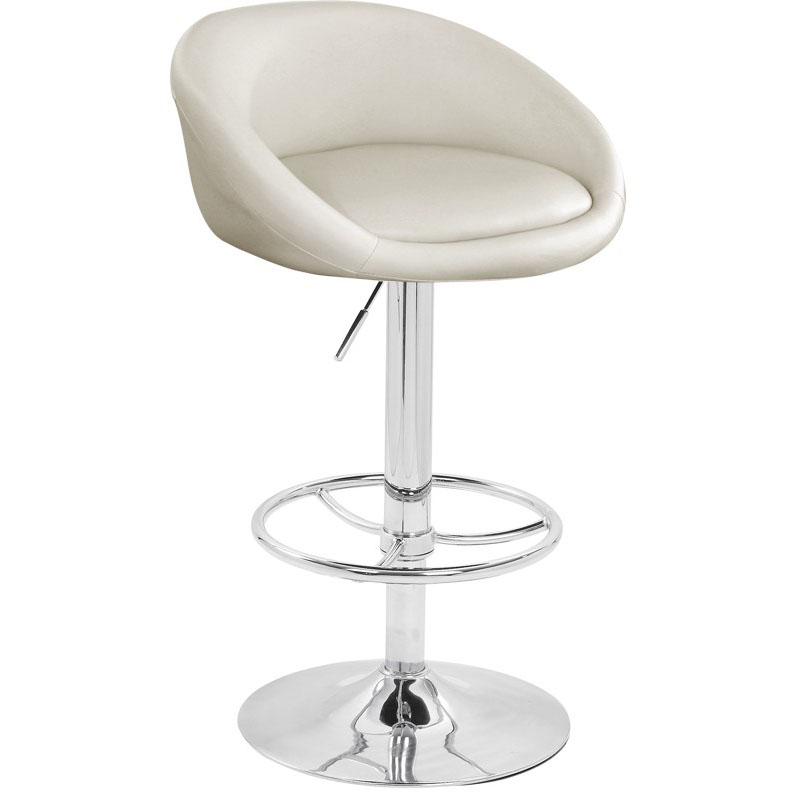 Luca Bar Stool - White Product Image