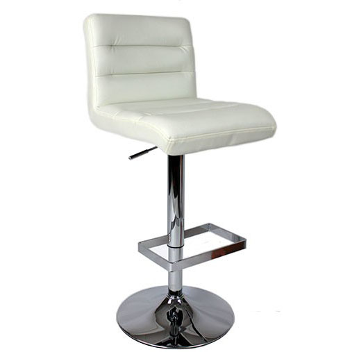 Luscious Bar Stool - White Product Image
