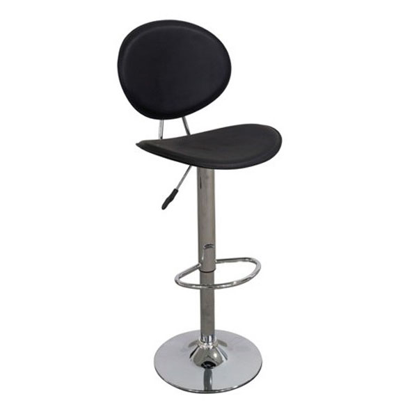 Manola Bar Stool - Black Product Image
