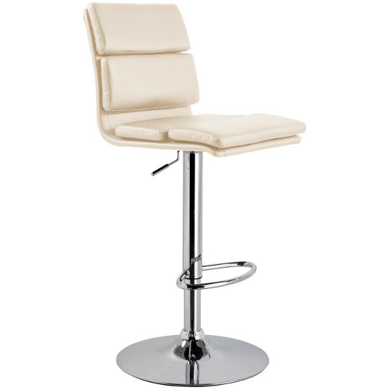 Moderno Bar Stool Cream Size X 420mm X 540mm