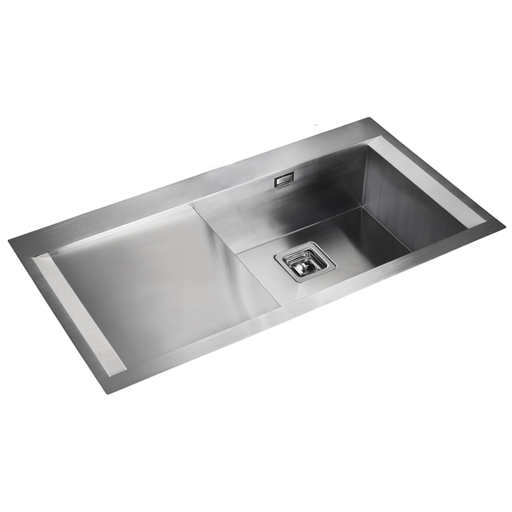 Rangemaster Senator 1.0 Bowl Stainless Steel Kitchen Sink - Left Handed