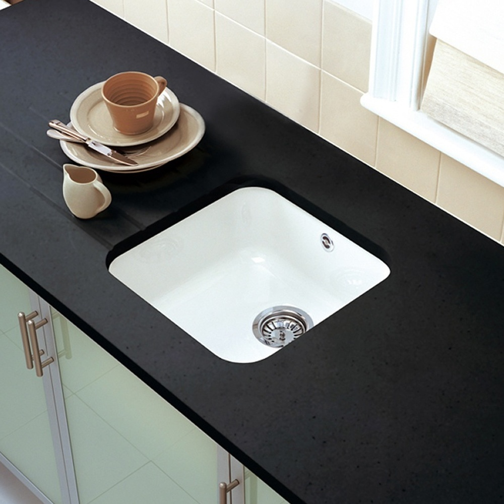 lowes sinks steel residential com stainless pl in kraus single x undermount basin at handmade white sink kitchen bar shop