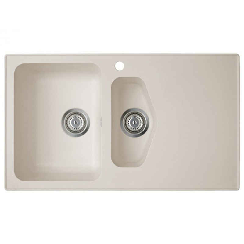 Astracast Dart 1.5 Bowl Rok Granite Kitchen Sink - Sahara Beige