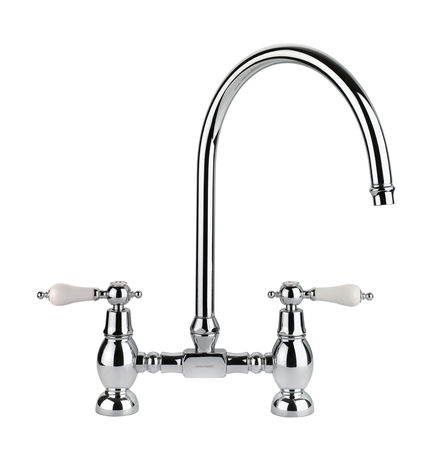 Rangemaster Belfast Traditional Brushed Stainless Steel Tap In