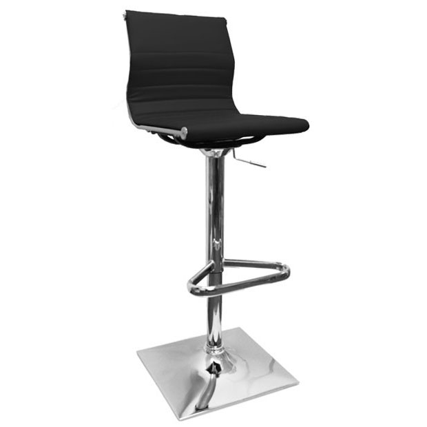 Rovigo Bar Stool - Black Product Image