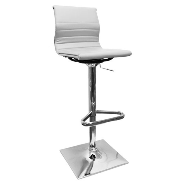 Rovigo Bar Stool - White Product Image