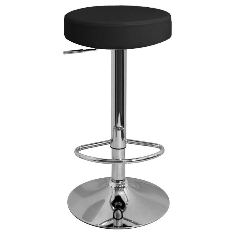 Semplice Bar Stool - Black