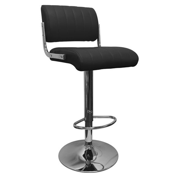Siena Bar Stool - Black Product Image
