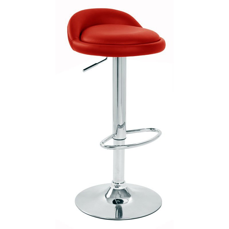 Sofia Bar Stool - Red