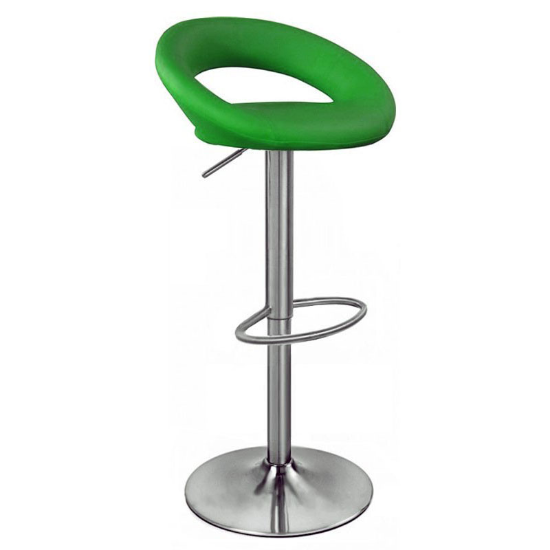 Sorrento Kitchen Brushed Bar Stool - Green Product Image