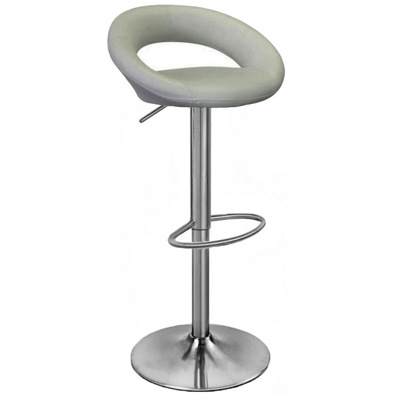 Grey Kitchen Bar Stools: Sorrento Kitchen Brushed Bar Stool