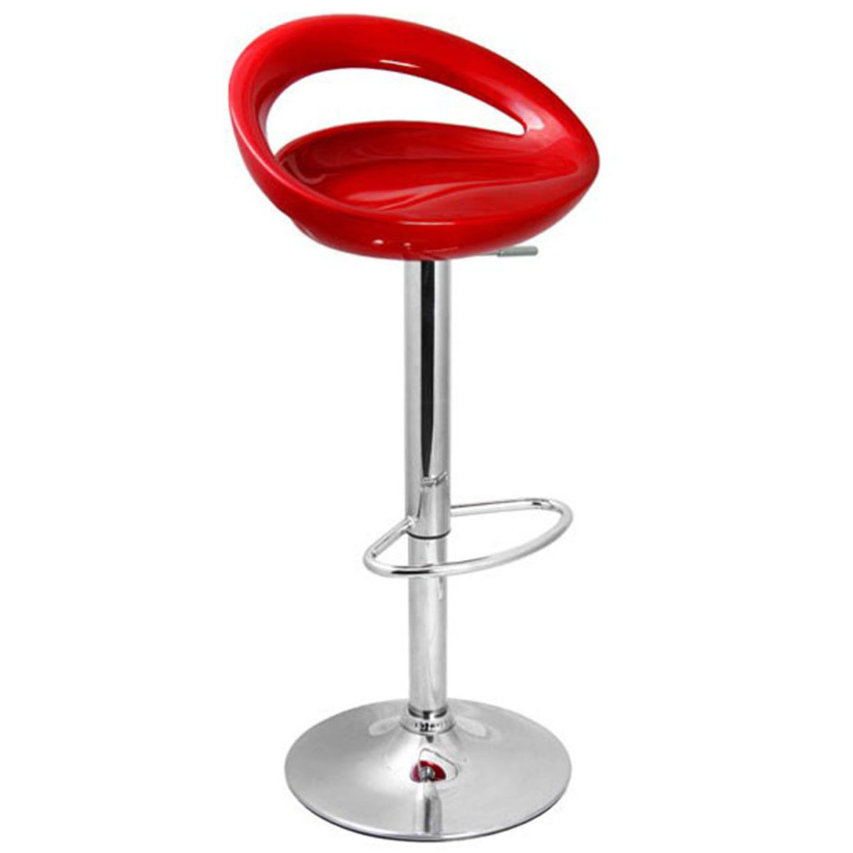 Sorrento Swivel Bar Stool - Red