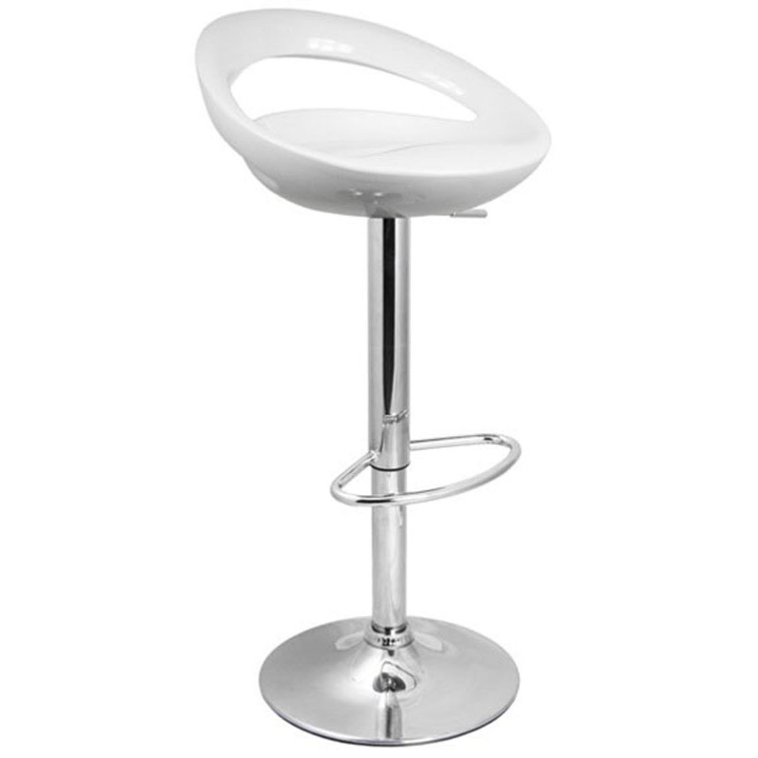 Sorrento Swivel Bar Stool - White