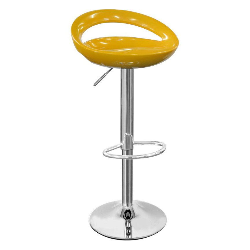 Sorrento Swivel Bar Stool - Yellow