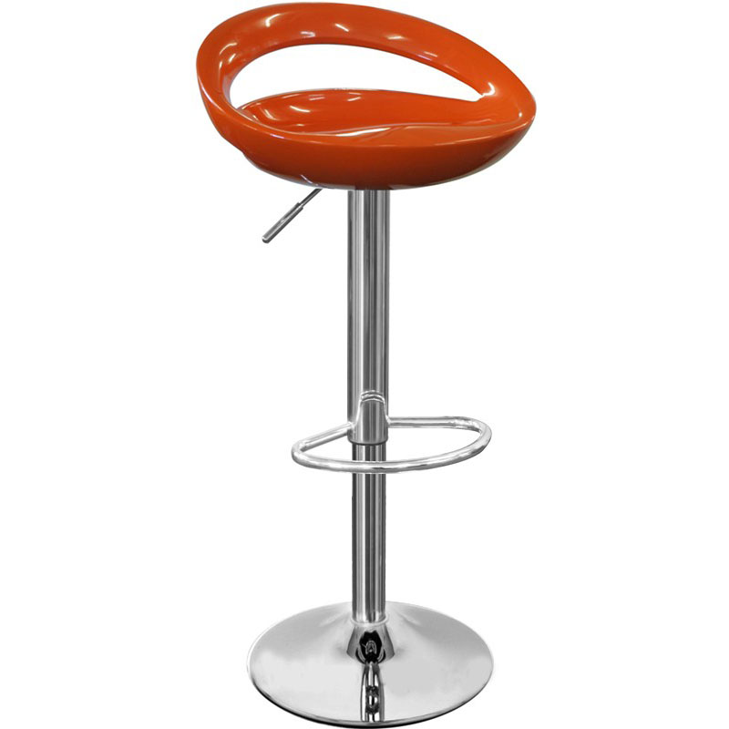 Sorrento Swivel Bar Stool - Orange