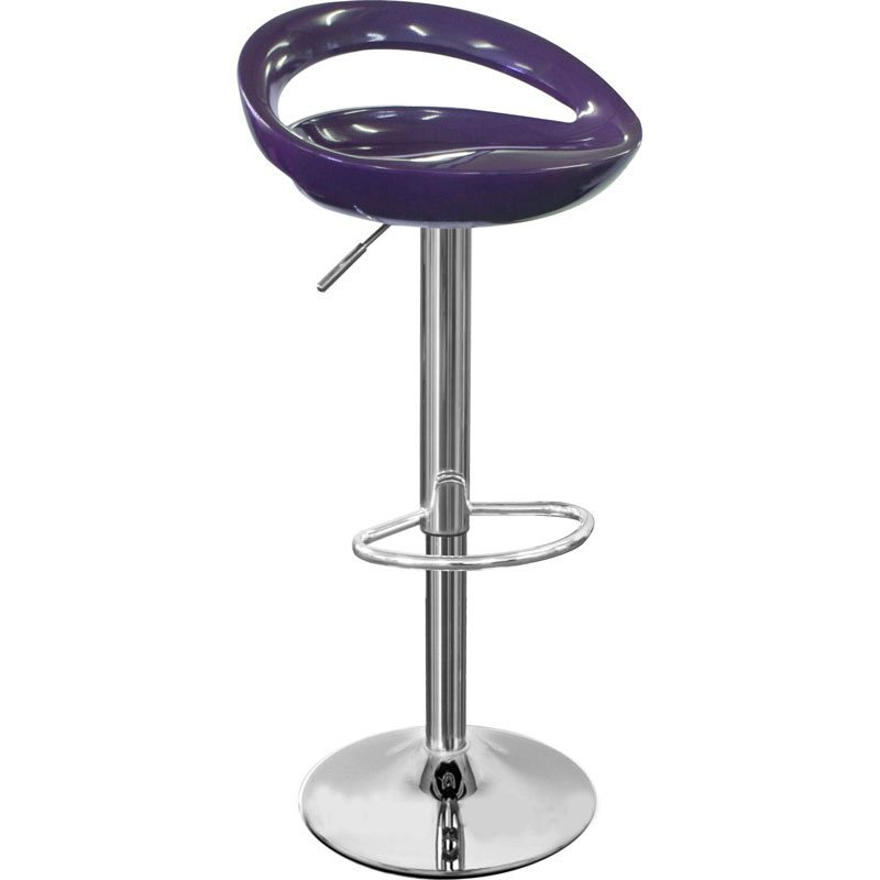 Sorrento Swivel Bar Stool - Purple