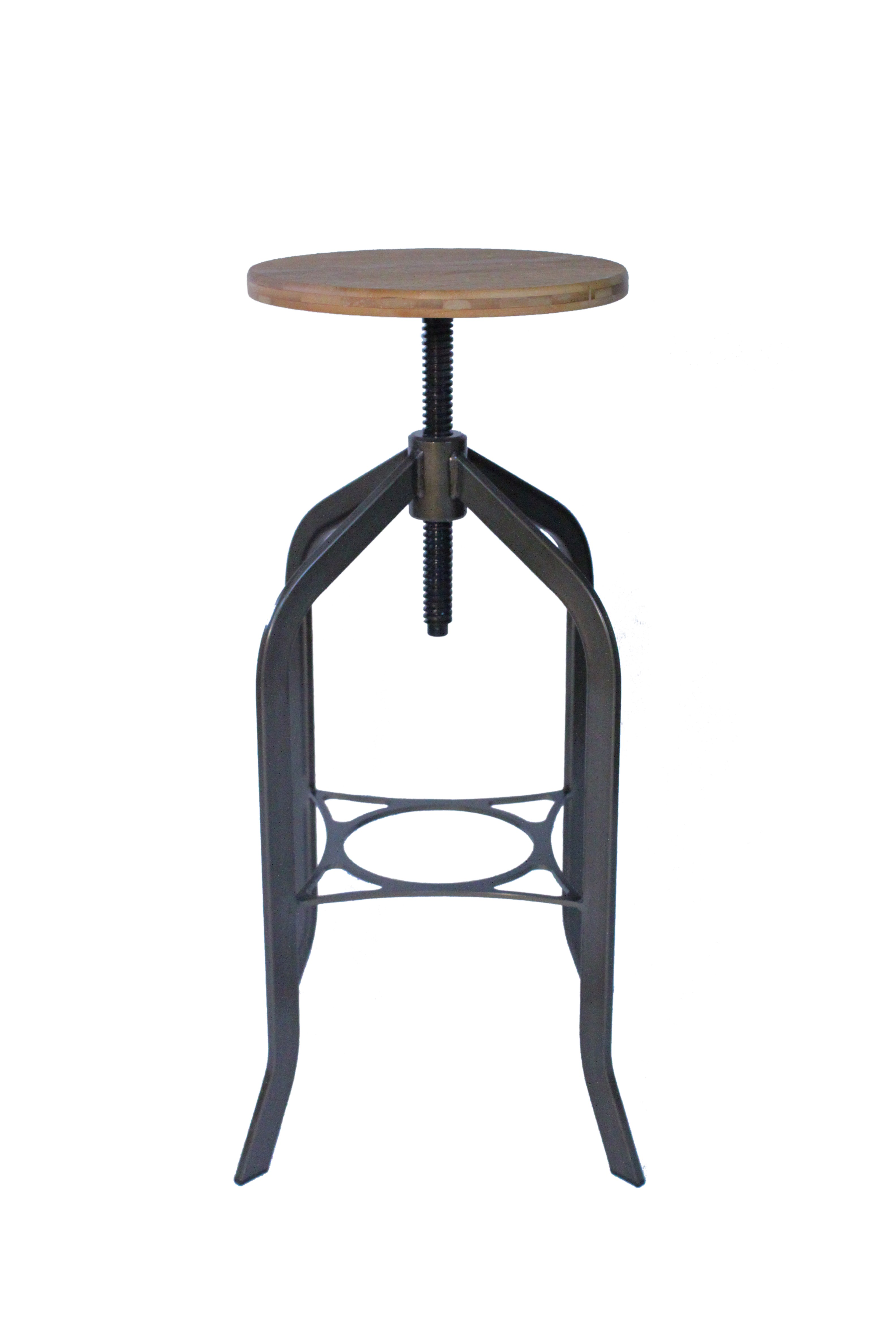 Trento Vintage Bar Stool - Rustic Product Image