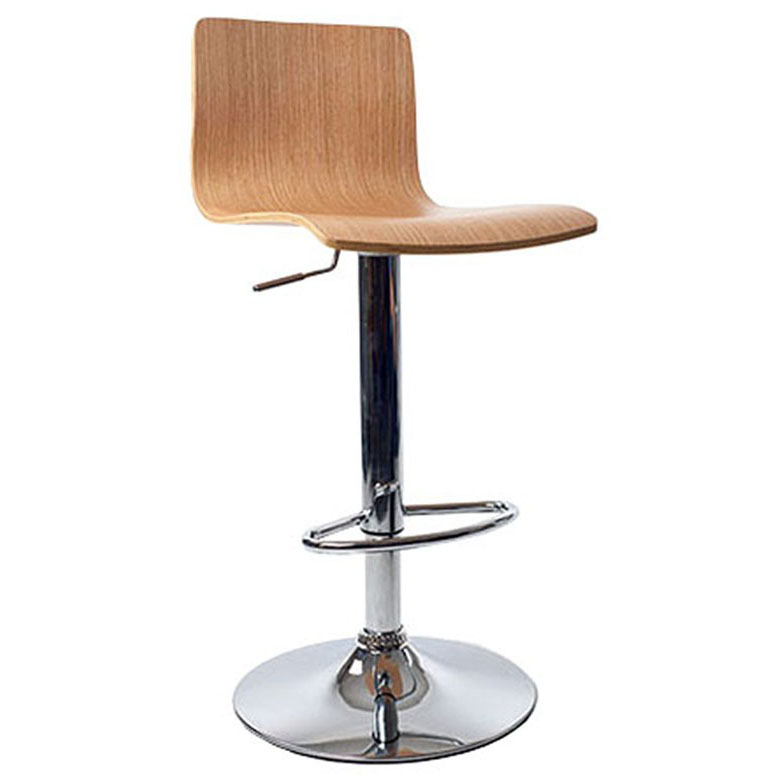 Venezia Bar Stool - Oak Product Image